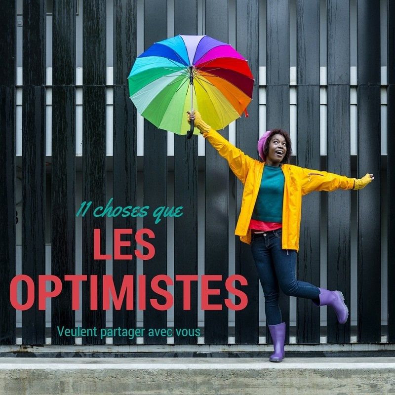 devenir optimiste