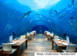 5 Underwater Restaurants And Bars Around The World