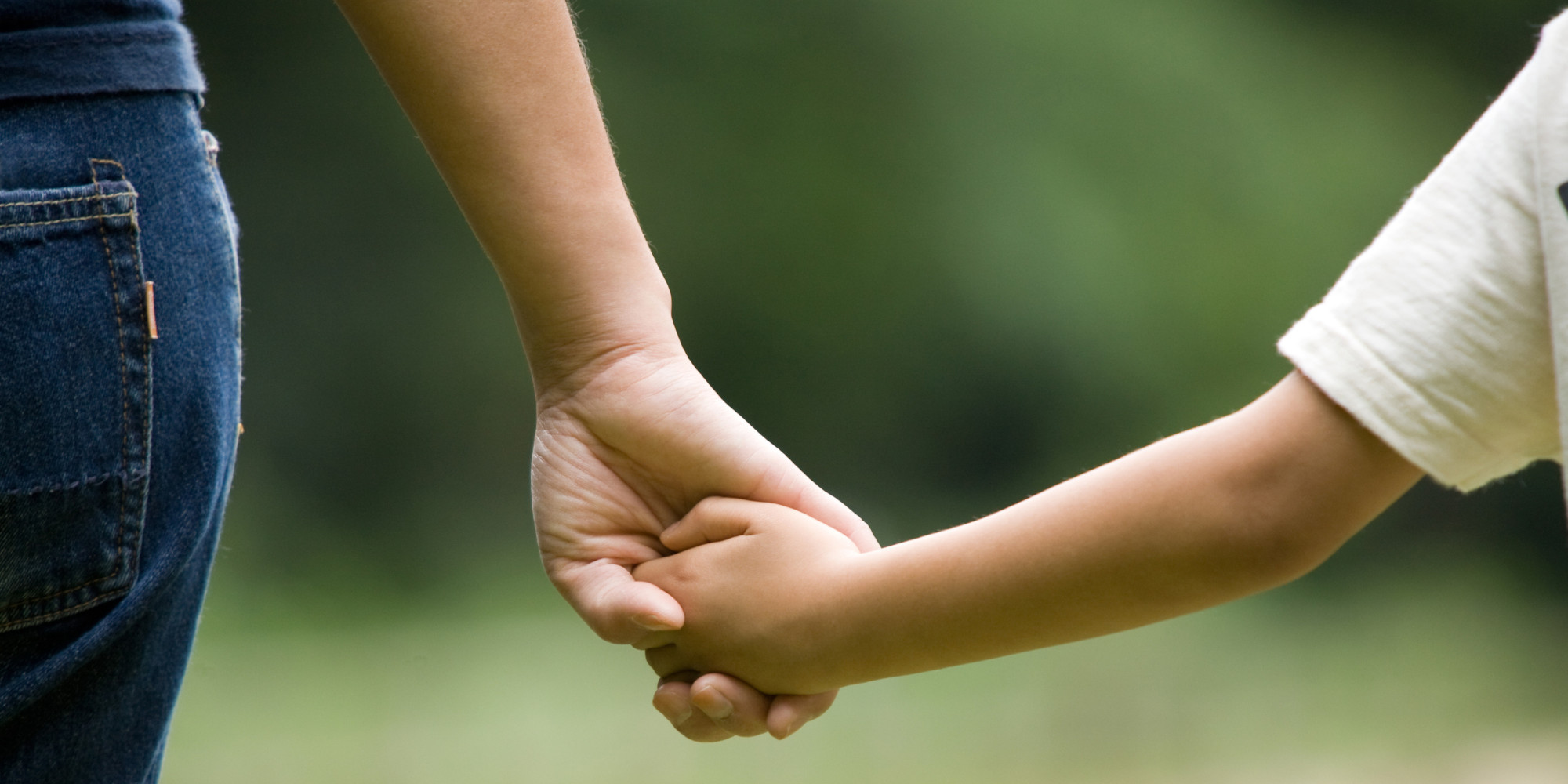 O mom and son holding hands facebook