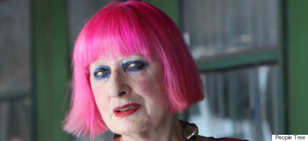 Zandra Rhodes On Fast Fashion: 'The Hidden Cost Isn't Made Clear To Us'