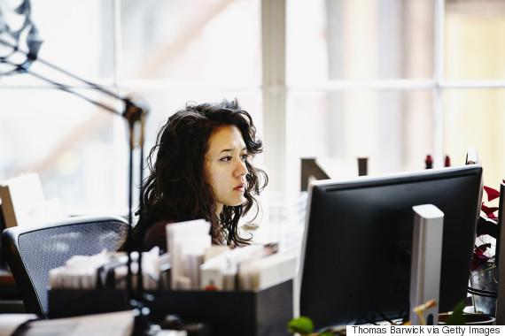 woman office