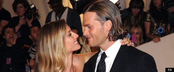 GISELE BUNDCHEN AND TOM BRADY ARE THE WORLDS HIGHE