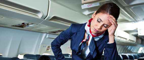STEWARDESS HEADACHE