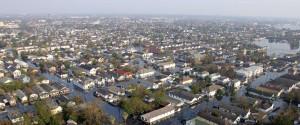 Hurricane Katrina New Orleans Aerial