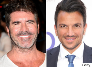 Simon Cowell Peter Andre