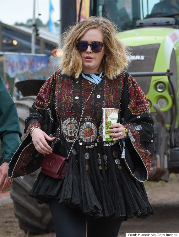 adele glastonbury