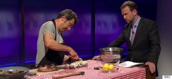 George Monbiot Butchering A Squirrel Live On Newsnight Is Every Bit As Weird As It Sounds