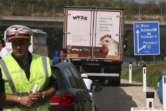 lorry austria