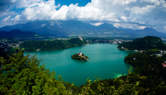 bled in slovenia
