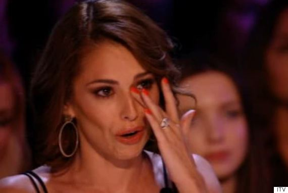cheryl crying x factor