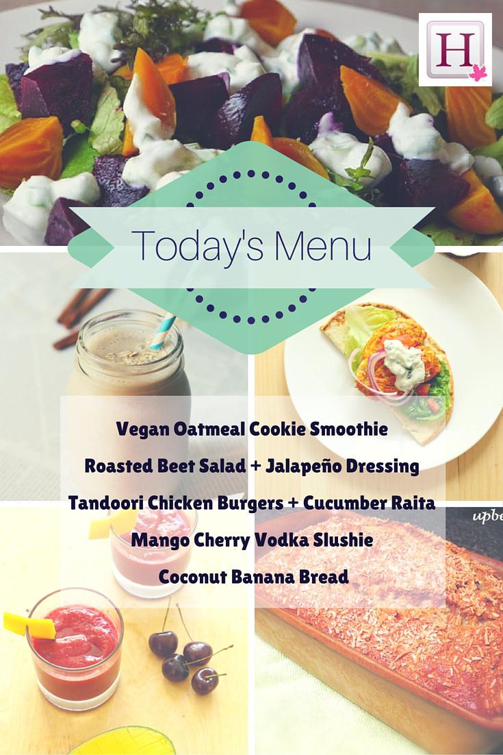 monday menu