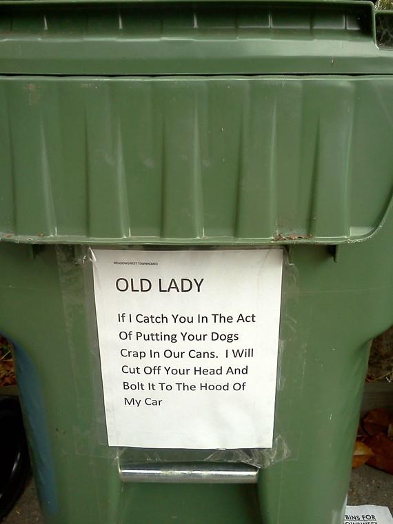 Owner Makes Dog Pick Up Trash