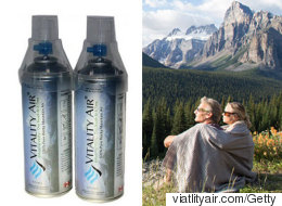 These Entrepreneurs Are Selling Bottled Air From Banff