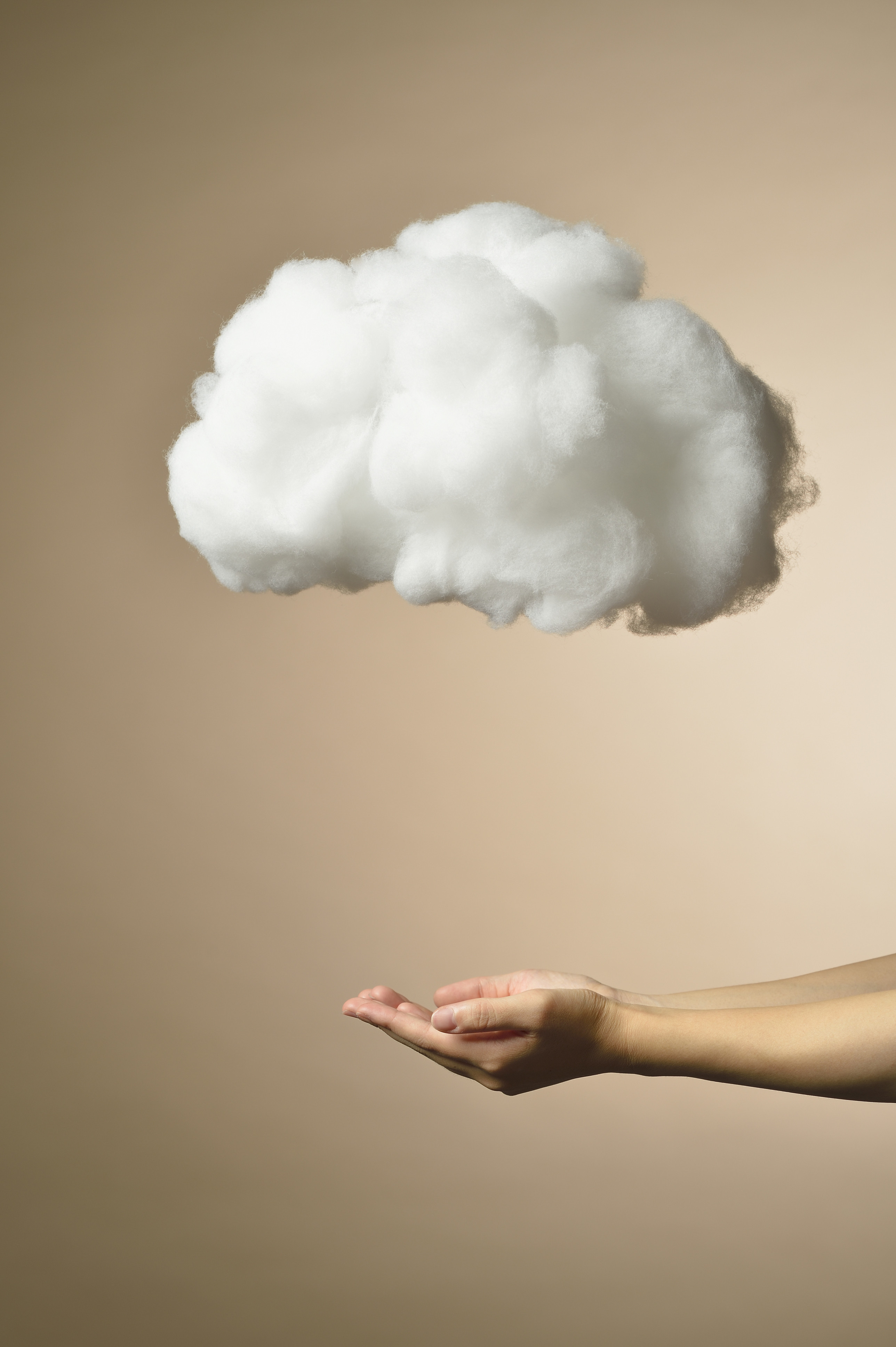 woman cloud
