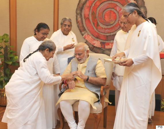 narendra modi rakhi