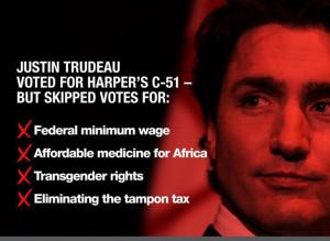 Justin Trudeau Ad
