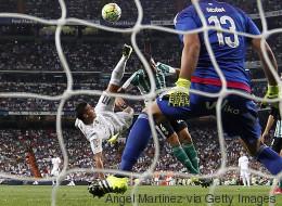 James Rodríguez hizo dos goles que parecen obras de arte