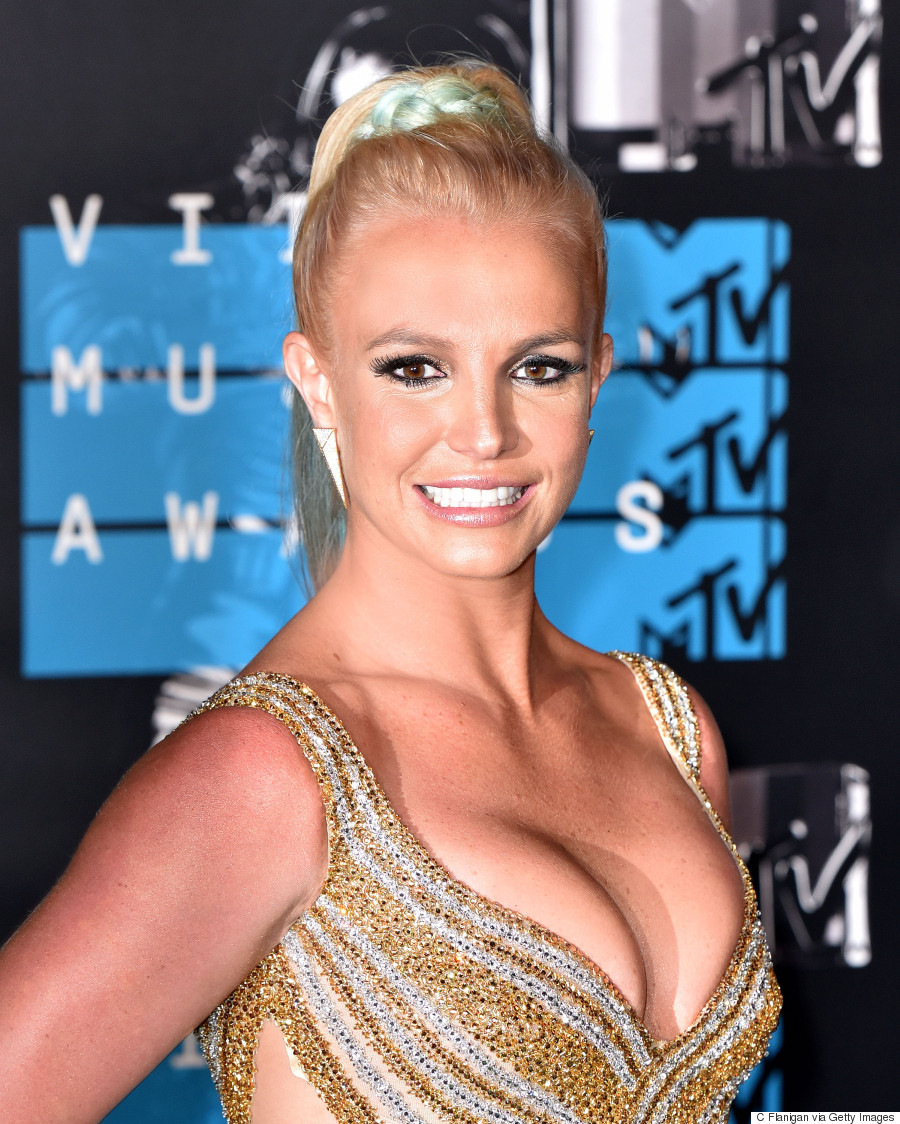 Britney Spears' MTV VMA 2015 Dress Is Smokin' Hot