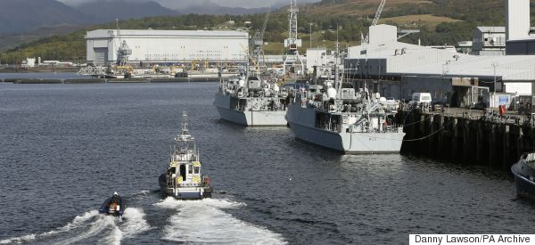 Faslane £500m Investment Is Proof Of 'Warped' Tory Priorities, Critics Claim