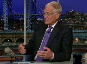 Letterman Earthquake