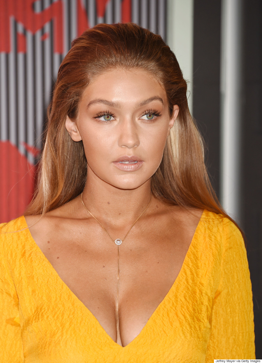 Gigi Hadid's 2015 MTV VMA Makeup: How To Get Her Bronzed ...