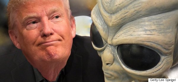 Even UFOs Are Following Trump (Despite Being Undocumented Aliens)