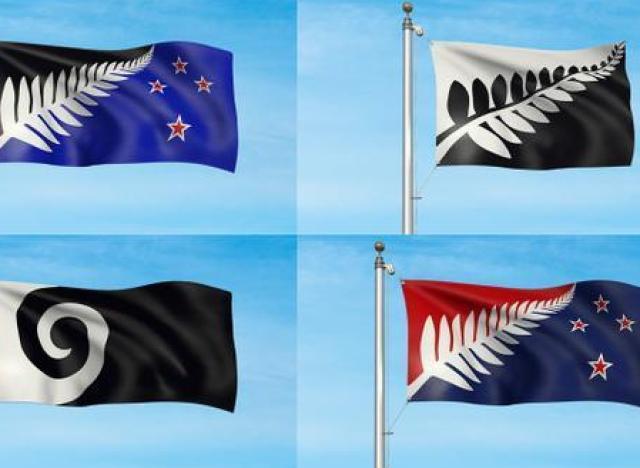 le nouveau drapeau de la nouvelle z lande sera l 39 un de ces quatre l. Black Bedroom Furniture Sets. Home Design Ideas