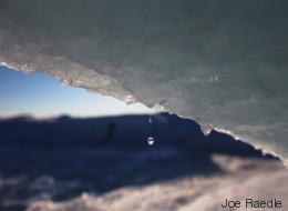 So dramatisch ist es, wenn ein Gletscher schmilzt