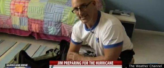 JIM CANTORE HURRICANE PACKING