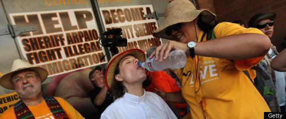ARIZONA PROTESTERS JAILED