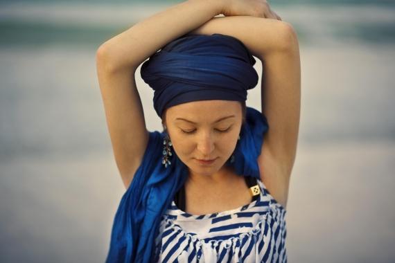 turban veil
