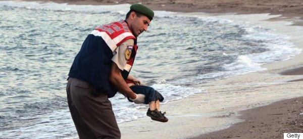 How The Image Of A Dead Syrian Child Divided Britain's Press