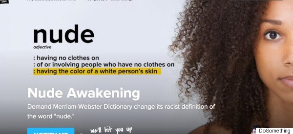 This Teen Made A Dictionary Change Its 'Racist' Definition Of 'Nude'