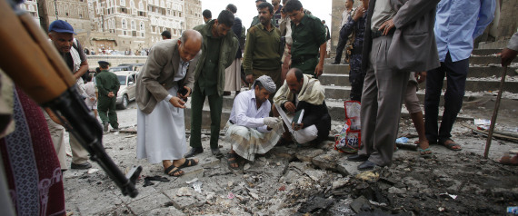 THE BOMBING OF A MOSQUE IN SANAA