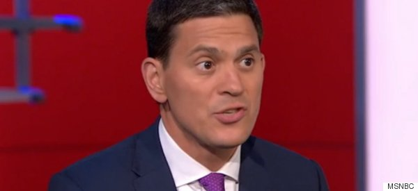 David Miliband Lauds Germany's Response To The Syrian Refugee Crisis