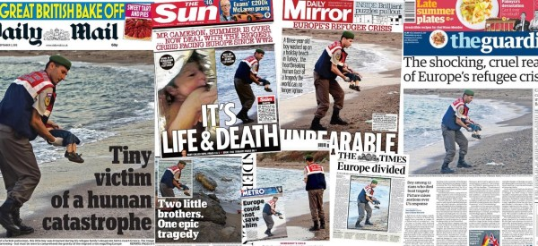 British Press In Rare Show Of Unity Over Image Of Drowned Syrian Toddler