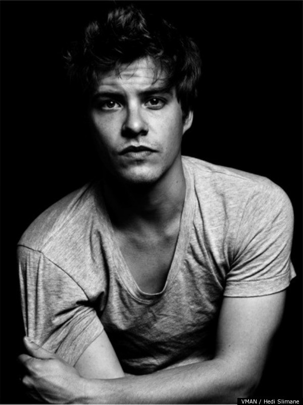 Logan Lerman  Xavier Samuel Named Hollywood s New Heartthrobs In VMAN    Xavier Samuel Black Hair