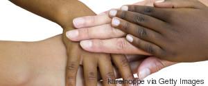 BABY HAND BLACK WHITE