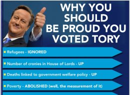 We're Not Too Sure About The Latest Conservative Party Leaflet...