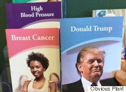 Prankster Adds 'Donald Trump' Health Pamphlet To Doctor's Office