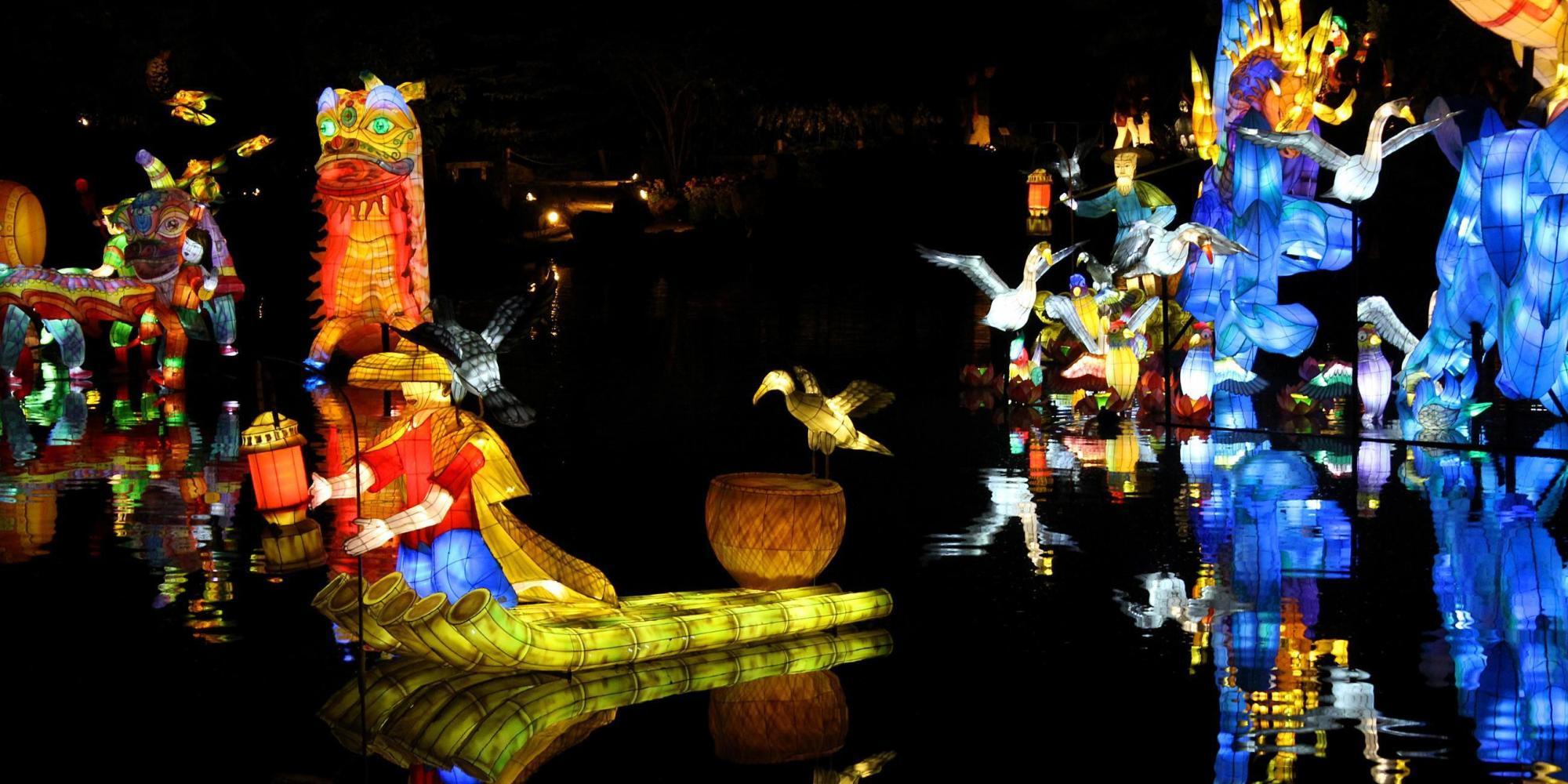 Le retour des soir es jardins de lumi re au jardin for Jardin botanique rabais 2015