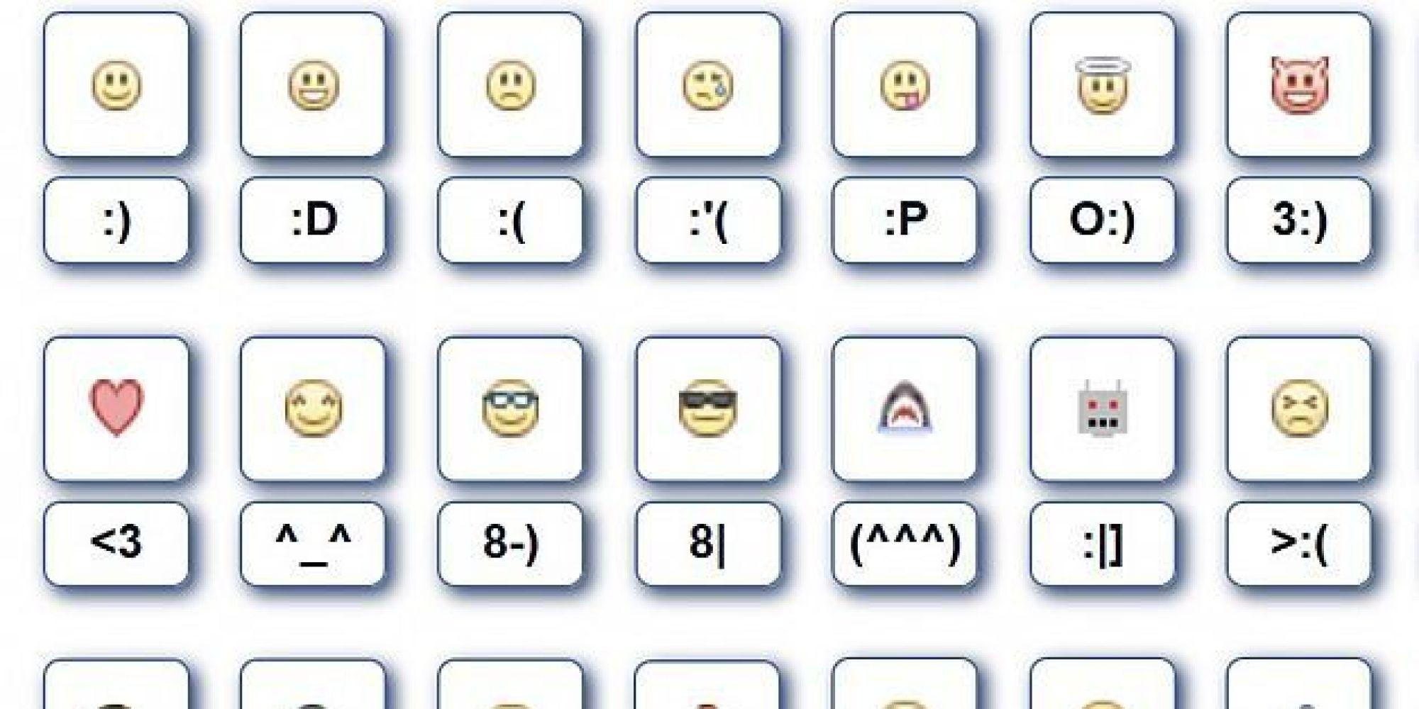 Совет 1: Как делать смайлики на клавиатуре 2