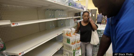 Hurricane Irene Preparations