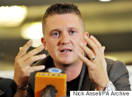Tommy Robinson Thinks Europe Is Being Overrun With 'Fake' Muslim Refugees