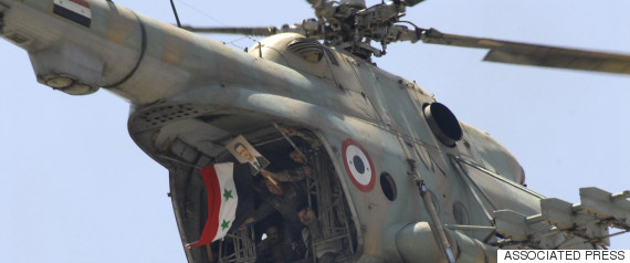 syrian helicopter