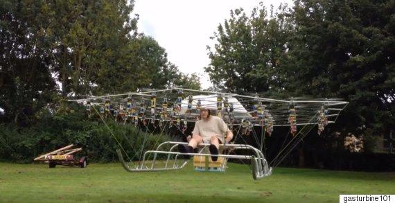 swarm man dron