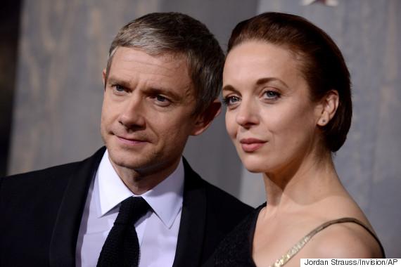 'Sherlock' Stars Amanda Abbington And Martin Freeman ...