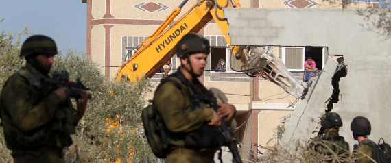 ISRAEL DEMOLISHES HOUSES IN THE WEST