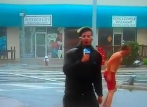 Weather Channel Streaker