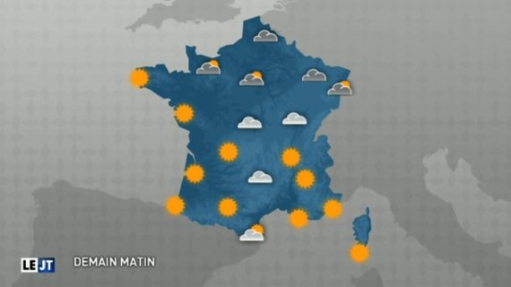 meteo grand journal carte